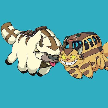 Appa and Catbus  by brethegoat