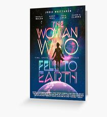 The Woman Who Fell To Earth Greeting Card