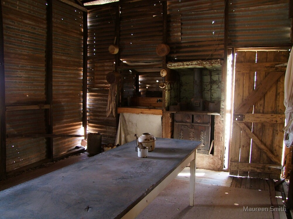 Homestyle living in Gwalia, ghost town near Leonora by Maureen Smith