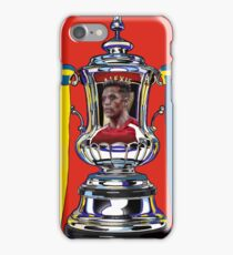 Alexis Sanchez / 2015 FA Cup Winners iPhone Case/Skin