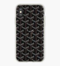 Black Graph iPhone Case