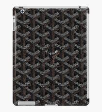 Black Graph iPad Case/Skin