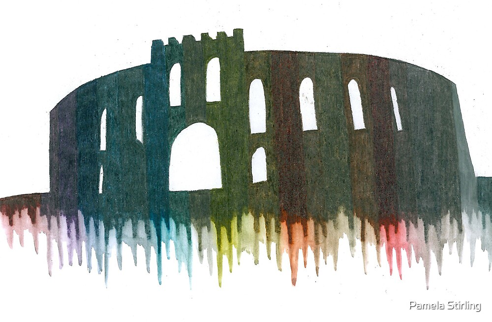 McCaig's Tower by Pamela Stirling