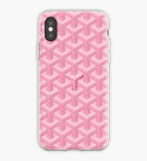 Pink Graph iPhone Case