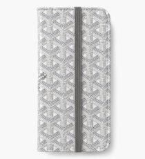 White Graph iPhone Wallet/Case/Skin