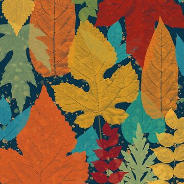 Autumn leaves by CatyArte