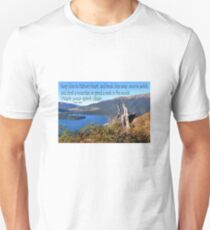 Keep close to Nature's Heart...Wash your spirit clean (John Muir) Unisex T-Shirt