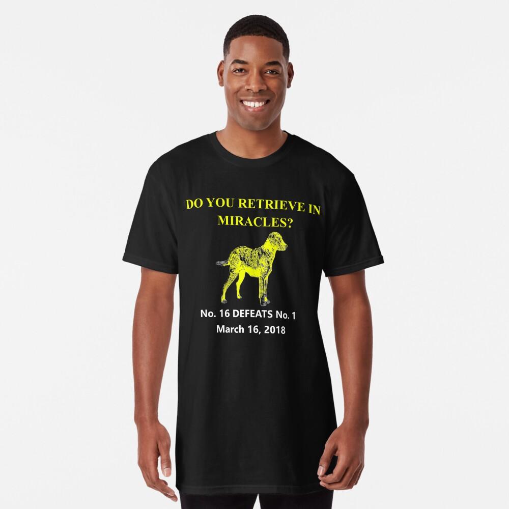 UMBC Beats Virginia 2018 NCAA März Verrücktheit Basketball Turnier T-Shirt Longshirt