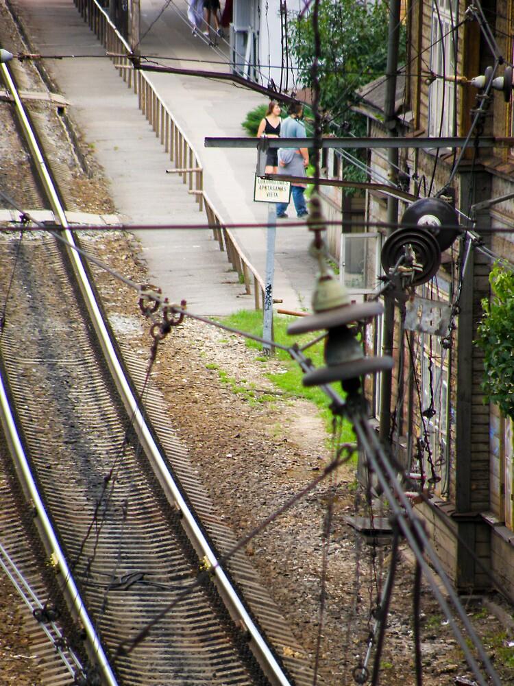 Old railroad by TIQA