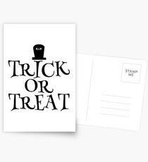 RIP Trick or Treat Postcards