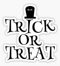 RIP Trick or Treat Sticker