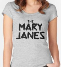 Spider-Gwen: The Mary Janes Women's Fitted Scoop T-Shirt