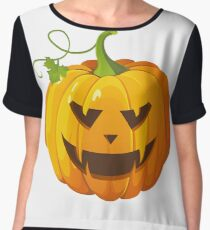 Pumpkin Clip Art #halloween #pumpkin #orange #autumn #holiday #isolated #lantern #october #evil #face #jackolantern #horror #scary #jack #decoration #spooky #3d #illustration #season #smile #black Chiffon Top