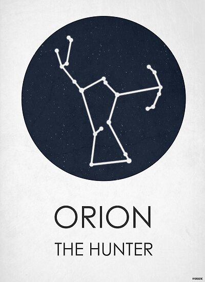 ORION - Constellations  by Hydrogene
