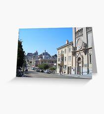 Filbert St Greeting Card