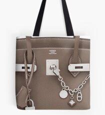 Hermes Silver Kelly Birkin Olga Bag Tote Bag