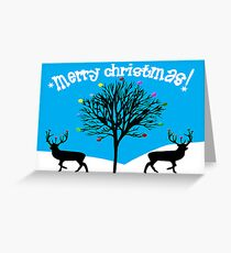 Merry Christmas Greeting Card Greeting Card