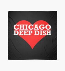 CHICAGO DEEP DISH pizza fan/lover Scarf