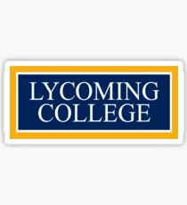 Lycoming College Sticker