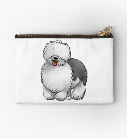 Old English Sheepdog Studio Pouch