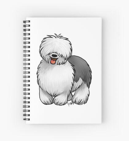 Old English Sheepdog Spiral Notebook