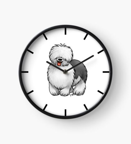 Old English Sheepdog Clock