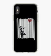 Vinilo o funda para iPhone ¡Oye! ¡Lo arreglé! Banksy Shredded Balloon Girl