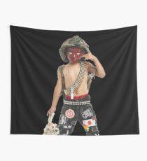 Zillakami x Sosmula / City Morgue - Hell or High Water Cover Art Wall Tapestry