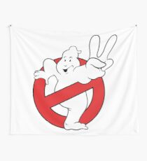 Ghostbusters II logo Wall Tapestry