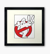 Ghostbusters II logo Framed Print