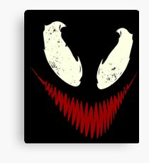 Venom's Disturbia Canvas Print