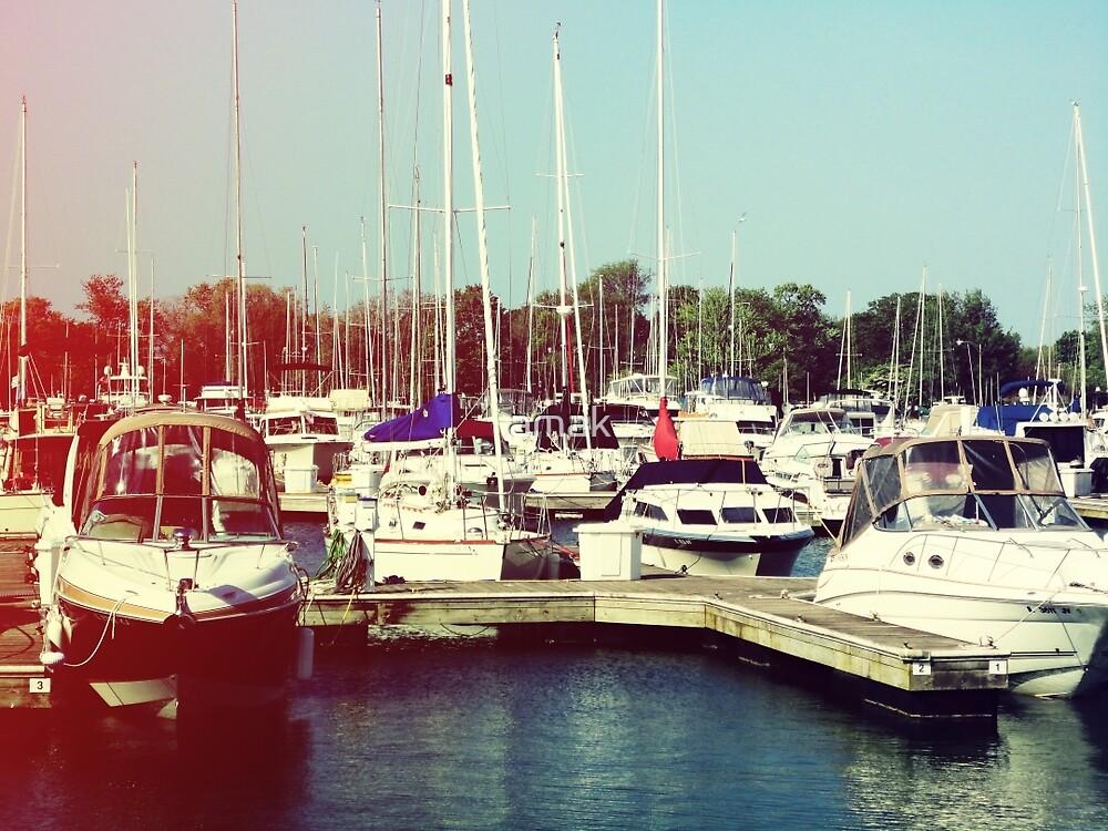 Boats IV by amak