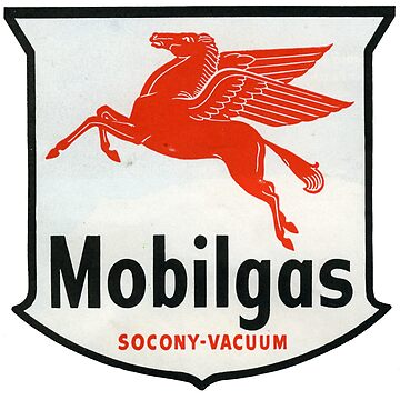 1950s Socony Mobilgas. The Fuel For a Generation  by taspaul