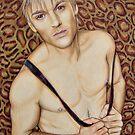 Aaron Carter Color Pencil @ www.KeithMcDowellArtist.com by © Keith McDowell, Artist