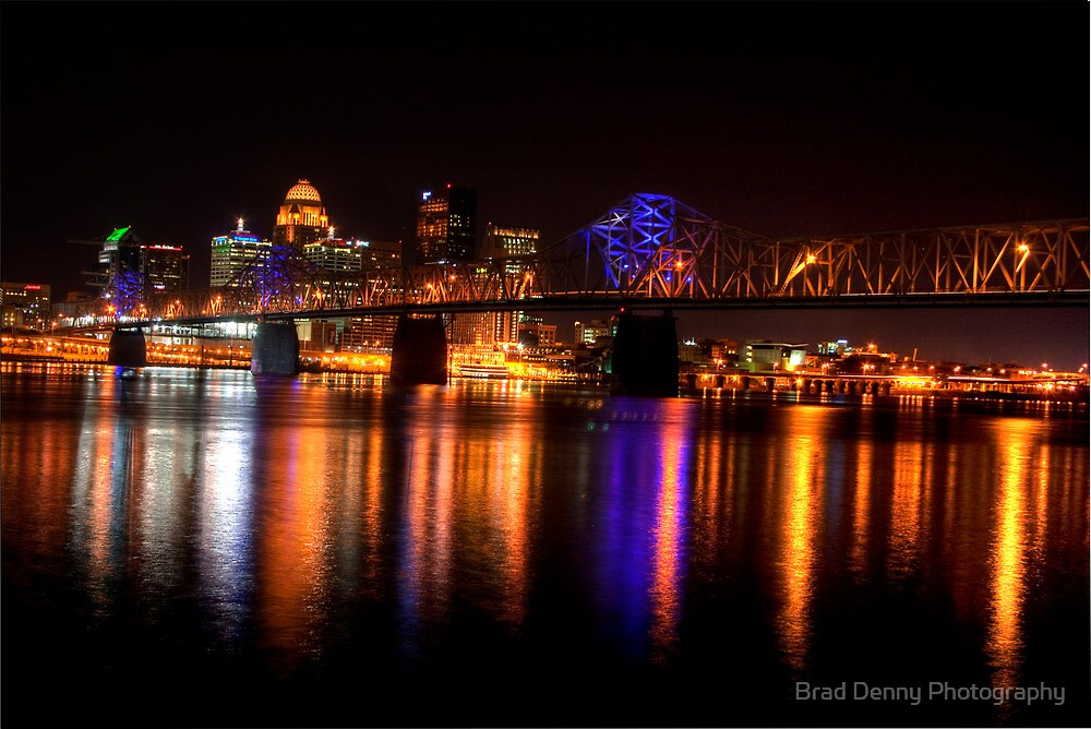 Quot Louisville Skyline Quot By Brad Denny Photography Redbubble