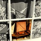 boat in window by savosave
