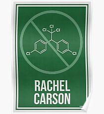 RACHEL CARSON - Frauen in der Wissenschaft Poster