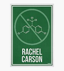 RACHEL CARSON - Women in Science Photographic Print
