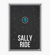 SALLY RIDE- Women in Science Photographic Print
