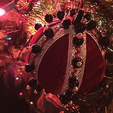 Christmas Red Velvet Ornament by bloomingvine