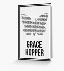 GRACE HOPPER - Women in Science Greeting Card