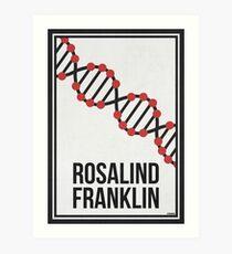 ROSALIND FRANKLIN - Women in Science Art Print