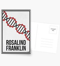 ROSALIND FRANKLIN - Frauen in der Wissenschaft Postkarten