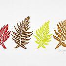 Gefärbte Farne - Autumn Palette von Cat Coquillette