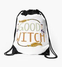 Gutes Hexe-Halloween-T-Shirt Rucksackbeutel