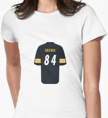 Antonio Brown Jersey Women s Fitted T-Shirt fca675b3f49
