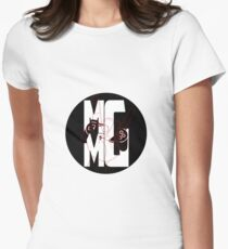 Metal meets gaming Women's Fitted T-Shirt