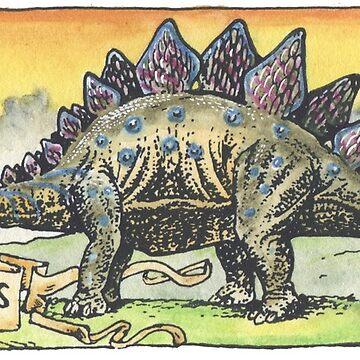 Stegosaurus by SnakeArtist