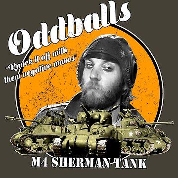 Oddball : Kelly's Heroes by WonkyRobot