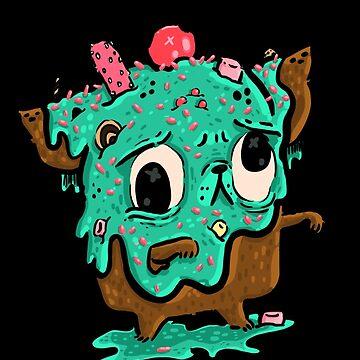 Zombie Ice Cream Bub by fluffymafi